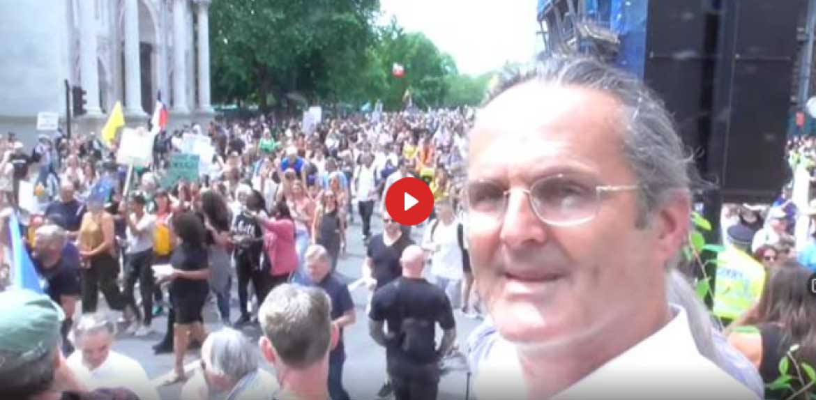 London Freedom March BIGGEST EVER June 26th