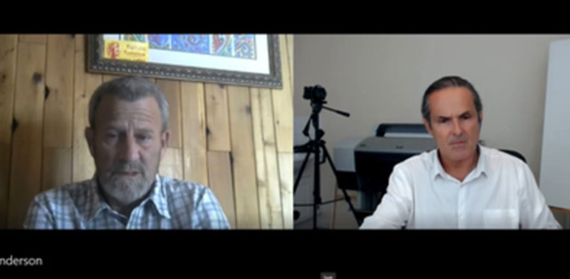 Dean Henderson Seeing and Escaping the Digital Covid Prison Interview with Jason Liosatos